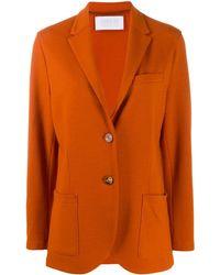 Harris Wharf London - Long Sleeve Knitted Blazer - Lyst