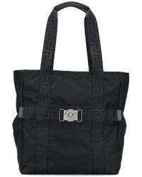 Versace - Greca Ribbon Tote Bag - Lyst