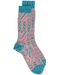 Ayamé - Grater Patterned Socks - Lyst