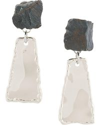 Proenza Schouler - Small Hammered Dangle Earrings - Lyst