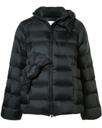 RED Valentino - Bow Appliqués Puffer Jacket - Lyst