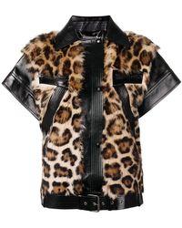 6a2eb14b3ec Givenchy - Chaleco con motivo de leopardo - Lyst