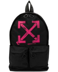Off-White c/o Virgil Abloh - Faded Arrow Print Backpack - Lyst