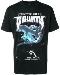 Marcelo Burlon - T-Shirt mit Print - Lyst