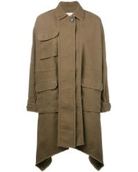 Valentino - Long Caban Parka Coat - Lyst