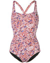 Emmanuela Swimwear - Elsa Printed Swimsuit - Lyst