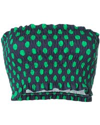 N-Duo - Polka Dot Top - Lyst