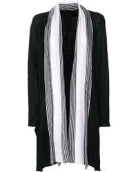 Rundholz Black Label - Colour-block Striped Cardigan - Lyst