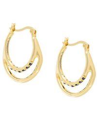 Iosselliani Silver Heritage Earrings - Metallic