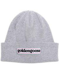 Golden Goose Deluxe Brand - Bonnet en coton Syrma - Lyst
