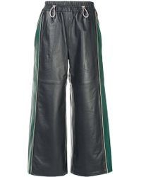 Mira Mikati - Wide Cropped Trousers - Lyst