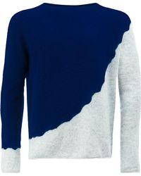 Suzusan - Pullover in Colour-Block-Optik - Lyst