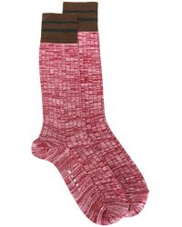 Marni - Marl Socks With Stripes - Lyst