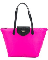 Twin Set - Logo Plaque Contrast Tote - Lyst