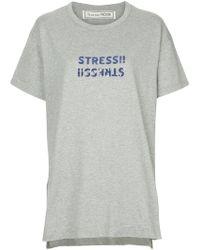 Tu Es Mon Tresor - Sequin-embellished T-shirt - Lyst