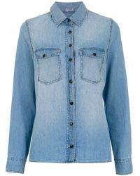 Tufi Duek - Denim Shirt - Lyst