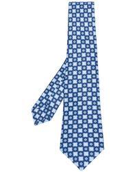 Kiton | Polka Dot Print Tie | Lyst