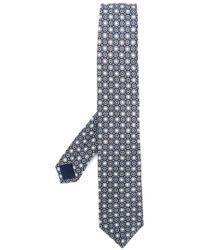 Corneliani - Embroidered Woven Tie - Lyst