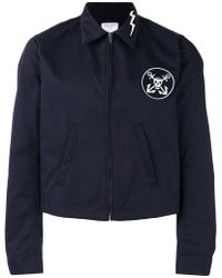 HTC Hollywood Trading Company - Logo Patch Jacket - Lyst