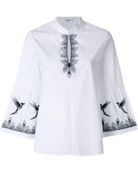 Vilshenko - Bird Embellished Blouse - Lyst