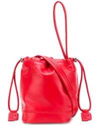 Paco Rabanne - Drawstring Bucket Bag - Lyst