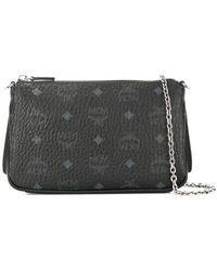 MCM - Top Zip Clutch Bag - Lyst