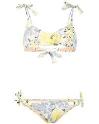 Emmanuela Swimwear | Floral Print Bikini | Lyst