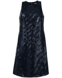 Lauren by Ralph Lauren - Lark Sequinned Dress - Lyst