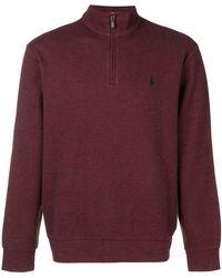 Ralph Lauren - Quarter-zip Sweater - Lyst