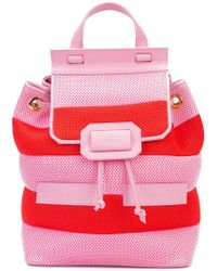 Boutique Moschino - Striped Backpack - Lyst