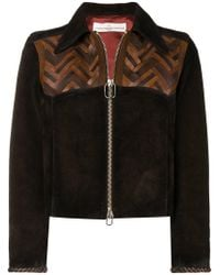 Golden Goose Deluxe Brand - Fitted Leather Jacket - Lyst