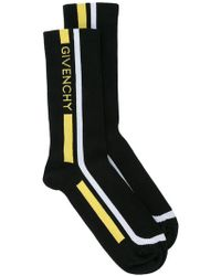 Givenchy - Colour-block Logo Socks - Lyst