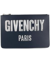 Givenchy - Logo Zipped Pouch - Lyst