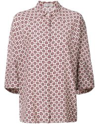 Alberto Biani - Concealed Front Shirt - Lyst