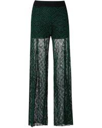 Cecilia Prado - Knitted Pants - Lyst