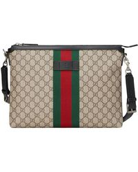 89dbe14e1d3b Lyst - Gucci 'techno' Messenger Bag in Black for Men