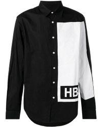 Hood By Air - Hemd mit Kontrastärmeln - Lyst