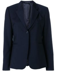 Paul Smith - Fitted Single-breasted Jacket - Lyst