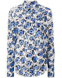 Christian Wijnants - Floral Print Shirt - Lyst