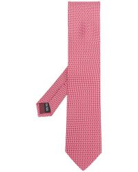 Ferragamo - Patterned Tie - Lyst
