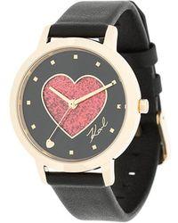 Karl Lagerfeld - Camille Valentine Watch - Lyst
