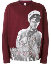 Antonio Marras - Floral Motif Sweatshirt - Lyst