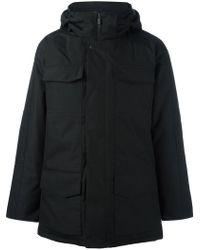 Canada Goose - Hooded Zipped Coat - Lyst