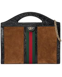 Gucci - Ophidia Medium Top Handle Tote - Lyst