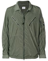 C P Company - Zipped Shirt Jacket - Lyst