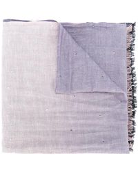 Hemisphere - Sequin Embellished Frayed Scarf - Lyst