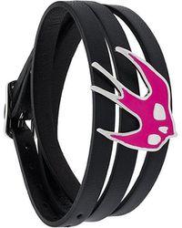McQ - Triple Strap Swallow Bracelet - Lyst
