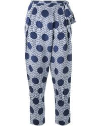 Mother Of Pearl - Polka Dot Print Trousers - Lyst