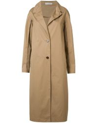 Barbara Casasola - Single-breasted Coat - Lyst