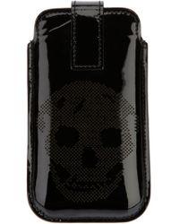 Alexander McQueen - Perforated Skull Blackberry Case - Lyst